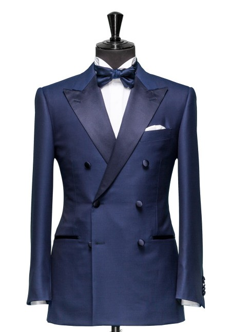 02033227334 tailor made to fit navy double breasted suit
